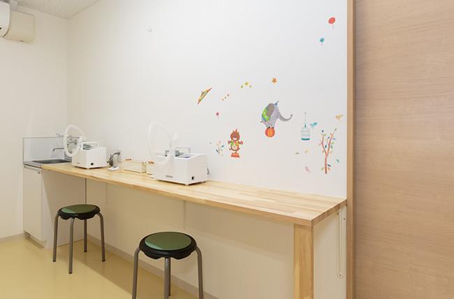 Nebulizer room